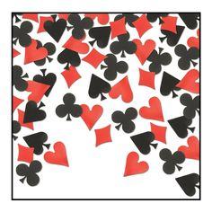 Card Suit Confetti (.5 Oz/Pkg)