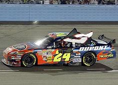 for sixth on the all-time list. Gordon did a victory lap with a No. 3 flag in tribute to Earnhardt. This was in Phoenix on Dale Sr. Still showing respect for his friend. Nascar 24, Nascar News, Nascar Race Cars, Bristol Motors, Terry Labonte, Jeff Gordon Nascar, The Intimidator, Rainbow Warrior, Dale Earnhardt Jr