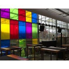 Film adhésif de couleur à découper transparent