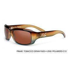 bdea0df22c Kaenon BOLSA Tob Denim Fade Copper 12-Polarized Prescription Sunglasses