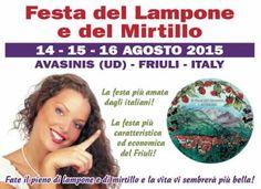Tre grandi concerti internazionali ad Avasinis per la Festa del Lampone e del Mirtillo