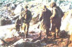 Mount Longdon battle, Falklands war, pin by Paolo Marzioli