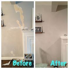 home repairs,home maintenance,home remodeling,home renovation Basement Plans, Basement Renovations, Home Renovation, Home Remodeling, Basement Ideas, Basement Inspiration, Patching Plaster Walls, Plaster Repair, Home Fix