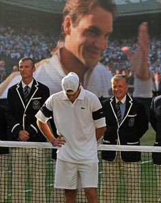 bdd8fdba3688e5 Tennis  Andy Roddick of the US bows his head after his Wimbledon 2009  defeat.