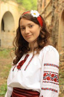 Ukrainian girl traditional