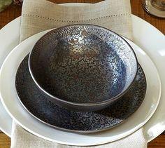 Reactive Dinnerware #potterybarn