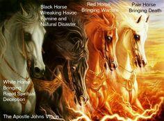 Revelations 4 horseman