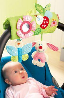 Inventori per bambini - Giostrina per seggiolino culla bimbo Amici dei fiori - Accessori per neonati - Per neonati - GIOCATTOLI & MOBILI