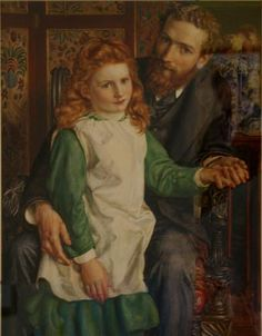 Gertrude (about age 8) and her father