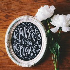 READY TO SHIP Chalkboard home decor saved by TheHipsterHousewife