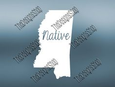 Mississippi Home State Svg Dxf Pdf Jpg Cut File  by TheDesignsShop