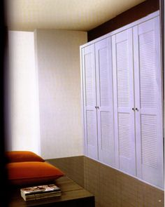 Here are some great ideas used by talented designers, homeowners, and renters to help solve your closet door and storage design challenges, Tags; categori Home decor # modern closet doors home door ideas for bedrooms Modern Closet Doors, Interior Closet Doors, Ikea, Build A Closet, Shutter Doors, Built In Wardrobe, Storage Design, Closet Designs, Closet Bedroom