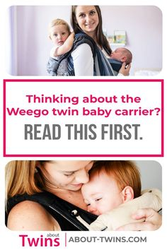 Learn about the different features of the Weego TWIN Baby Carrier. Find out how to wear and use the carrier and where to buy. Baby Carrier Newborn, Best Baby Carrier, Newborn Twins, Twin Babies, Ergonomic Baby Carrier, Twin Toddlers, Expecting Twins, Pregnancy Advice, Raising Twins