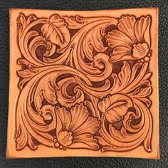 Leather Stamps, Leather Art, Custom Leather, Leather Design, Leather Tooling, Sewing Leather, Tooled Leather, Leather Craft Tools, Leather Projects