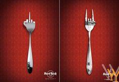 Creative Advertising, Hard Rock, Rock N Roll, My Style, Design Ideas, Marketing, Rock Roll, Ads Creative, Hard Rock Music