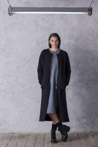płaszcz LONG czarny
