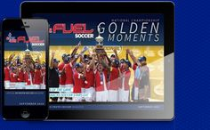 Read FUEL Soccer Magazine - the magazine for players, parents and coaches.