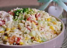 Sałatka z makaronem ryżowym B Food, Fried Rice, Fries, Salads, Curry, Low Carb, Meals, Ethnic Recipes, Meal Ideas