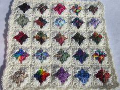 Crocheted Doll Blanket All Scraps Trimmed by crochetedbycharlene, $16.00 #PFTpin2win