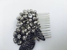 Butterfly Unique Bridal Handmade Hair Comb