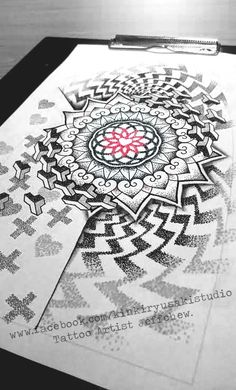 Custom Mandala design with dot all the way.(Jeffchew.)  (https://www.facebook.com/JeffChew-Tattoo-856068847764707) U can use for a Idea and Reference.(But please respect the artist work - (NO COPY).
