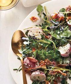 Bacon, Potato, and Watercress Salad