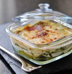 Lasagne di grano saraceno con spinaci e stracchino