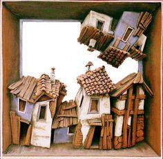 The Bulgarian Old houses 1 Ceramic Art