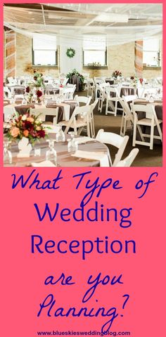 There are many different types of wedding receptions to choose from. Generally, the style of reception matches the theme and style of your wedding. Check out the top 5 types of wedding receptions now! Wedding Reception Planning, Wedding Receptions, Wedding Ceremony, Reception Ideas, Wedding Tips, Wedding Blog, Our Wedding, Luncheon Menu, Styling A Buffet