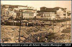 1904 inicio das obras de teatro Municipal.