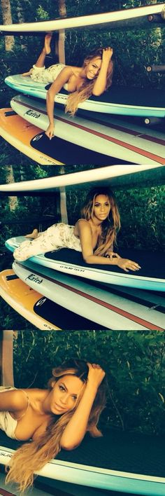 "Beyonce 2014 ""riding on my surf board, surf board"" Beyonce Style, Beyonce And Jay Z, Beyonce Photoshoot, Divas, King B, Bae, Beyonce Knowles Carter, Queen, Fotografia"