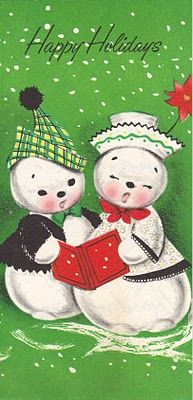 Two Crazy Crafters snow couple