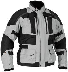 I purchased a Kathmandu jacket and set out on a test drive of my new G650GS from Grand Rapids to Indian River. I rode the 250 miles in driving rain, about 42 degrees. The jacket was AWESOME!. My boots filled with water, my hands were numb, and my pants soaked through, but the Kathmandu jacket has been the single best buy I have made. I will be picking up a pair of pants. Thanks for a great product!