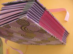 Álbum em estrutura concertina. Estúdio Lupi by Lu Pimenta
