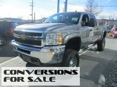 2012 Chevy Silverado 2500HD LT Crew Cab Lifted Truck