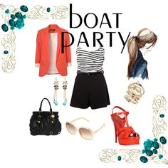 A fashion look from July 2012 featuring red boyfriend blazer, striped jersey and red patent leather sandals. Browse and shop related looks. Boyfriend Blazer, Striped Jersey, Wardrobe Ideas, Must Haves, Sailor, Fashion Looks, Party Ideas, Boat, My Love