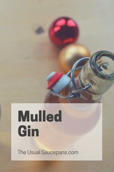 This winter, why have gin when you could make a seasonal treat with MULLED GIN! Perfectly spiced and ready to make everyone smile, mulled gin works all winter long. http://theusualsaucepans.com/drinks/merry-christmas-mulled/