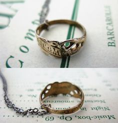 I have been coveting this old Slavic ring for almost a year. Finally got it when the summer 20% off sale started!