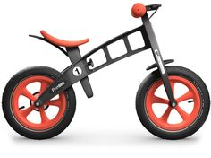 FirstBIKE Limited Orange.   With limited edition colors and with world-renowned Schwalbe Big Apple tires for maximum traction on any surface.