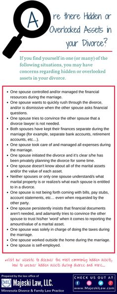 22 best legal help images on pinterest law divorce and divorce prevent hidden or overlooked assets in your divorce pin to save click the solutioingenieria Choice Image
