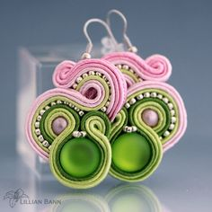 soutache - earrings :)
