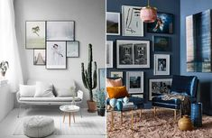 Hänga upp tavlor som ett proffs – 8 enkla tumregler Interior Design Living Room, Living Room Designs, Gallery Wall, Dining, Home Decor, Walls, Bra, Food, Decoration Home
