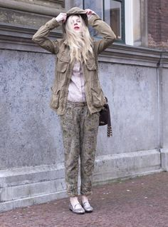 cocorosa outfit : camouflage