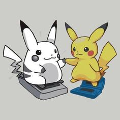 Pikachu Lost some weight