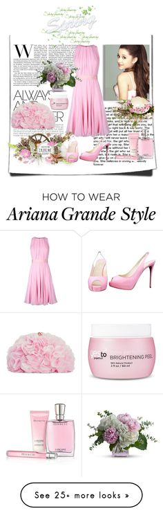 """""""Spring Flowering"""" by malathik on Polyvore featuring MaxMara, PEONY, Lancôme, Betsey Johnson, Christian Louboutin, women's clothing, women, female, woman and misses Ariana Grande Outfits, Peony, Betsey Johnson, Victorious, Women's Clothing, Christian Louboutin, Tulle, Cute Outfits, Fancy"""