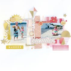 Posts about Freckled Fawn written by , Kim Watson, and Hip Kit Club Baby Scrapbook, Travel Scrapbook, Scrapbook Pages, Scrapbook Layouts, Scrapbooking Ideas, Baby Sketch, Hip Kit Club, Photographs And Memories, Happy Today