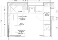 Como reformar una cocina paso a paso. Kitchen Decor, Kitchen Design, Floor Plans, Wood Trim, Furniture Plans, Countertops, Houses, Modern Kitchens, Decorating Kitchen