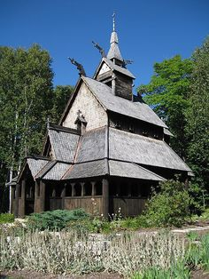 Stave Churches Are All Wood, Dragons, and Beauty | Atlas Obscura