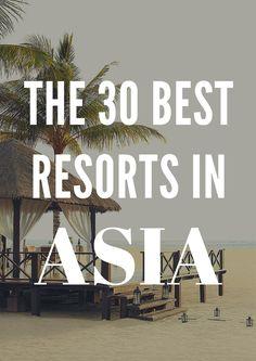 Best Resorts in Asia