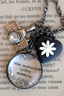 """She Captures Life's Moments"" Necklace by Beth Quinn Designs"